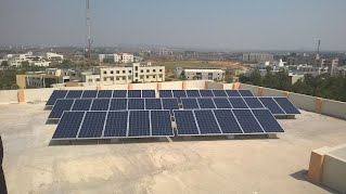 CVRCE, Bhubaneshwar 160kW Distributed Rooftop PV Power Plant with Storage